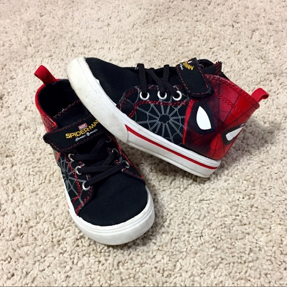 Marvel Shoes | Spiderman Converse Style